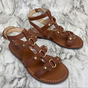 Cole Haan Gladiator leather buckle sandals 6